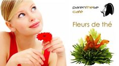 Les fleurs de thé naturelles de Parenthese Café