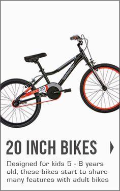 "View our range of 20"" kids bikes  at bikes.com.au"