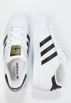 adidas Originals SUPERSTAR - Sneakers laag - white/core black - Zalando.be