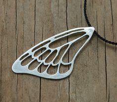 Laser cut butterfly wing