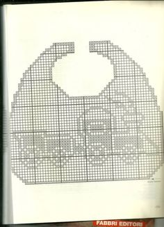 crochet & knitting , handmade , handicraft, creative ideas, for kids boys ideas Crochet Baby Bibs, Crochet For Boys, Knitting For Kids, Crochet Clothes, Baby Knitting, Knitting Ideas, Crochet Patterns Filet, Crochet Chart, Bobble Stitch Crochet