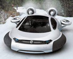 Volkswagen Aqua Curvy Hovercraft