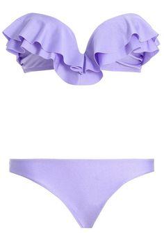 Tīnÿ purpłē bikini