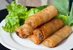 Fried Spring Rolls, Vietnamese Style, I have already made these at home and they are very easy and delicious, however a bit time-consuming, but the turnout was great and it was definitely worth it :) <3