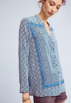 Anthropologie Top Pi