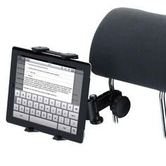 2016 Brand New Universal Car Back Seat Headrest Tablet Mount Holder For iPad 2 3 4 Mini For Samsung Tablet PC GPS Holder Stand