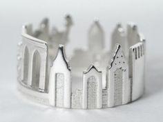 Designer Creates 3D Printable, Wearable Cities Through Shapeways