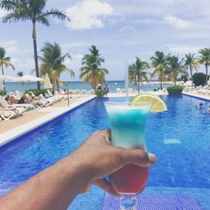 Coctail time at Riu Palace Jamaica - All Inclusive hotel in Montego Bay, Jamaica