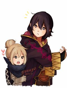 Fire Emblem - My two favorite daughters! <3