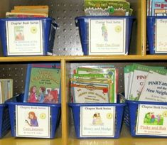 Classroom Library ideas and lots of labels for the book boxes Book Box Labels, Book Basket Labels, Book Baskets, Book Boxes, Library Organization, Library Ideas, Class Library, Free Library, Reading Activities