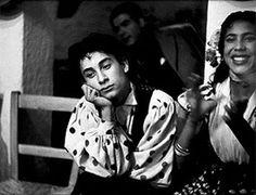 Gitanos en Granada, 1950. Inge Morath  (page 63) Flamenco. The book-catalogue 'Prohibido el cante. Flamenco y fotografía' is released in a special edition.