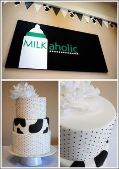 I didn't know cow print was an option! Maybe I will reconsider my stance on a wedding cake ;)