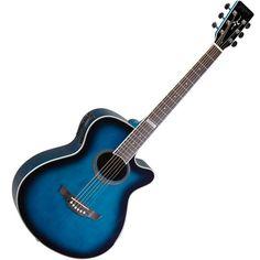 Violao Elétrico Tagima Aço Dallas Azul - Frete Grátis - R$ 659,97