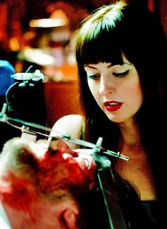 Katherine Isabelle in American Mary Sci Fi Movies, Top Movies, Scary Movies, Horror Movies, American Mary, Fb Background, Katharine Isabelle, Tv, Scream Queens