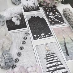 intuitive tarology + oracular guidance // a gathering of favourite decks including The Wild Unknown tarot + oracle cards, sacred creators oracle, fountain + star child tarots, devas of creation + wisdom of the oracle // #gingerurchin #tarotcards #tarotreader #thewildunknown #tarotspreads