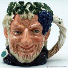 Toby jug jarra porcelana Royal Doulton Bacchus sello base