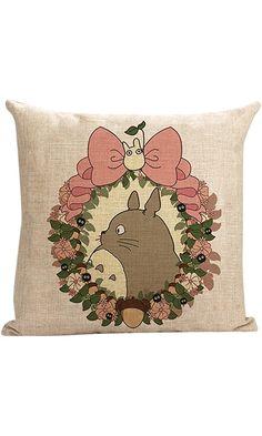 Warm-life New Style My Neighbor Totoro Throw Pillow Cover (Totoro1) Best Price