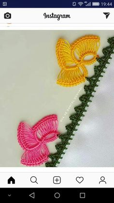 Crochet Designs, Crochet Patterns, Crochet Borders, Hair Pins, Hand Embroidery, Tatting, Needlework, Knit Crochet, Diy And Crafts