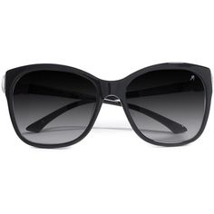 GUESS by Marciano Gianna Sunglasses (525 SAR) ❤ liked on Polyvore featuring accessories, eyewear, sunglasses, glasses, óculos, black, black sunglasses, oversized cat eye sunglasses, cat eye sunglasses and logo lens sunglasses