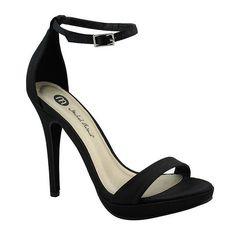 fe903ce3db0 Michael Antonio Lovina Ankle-Strap Satin Platform Sandals