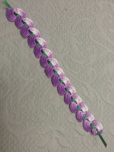 Free! - Ravelry: Cascading Petals Bookmark pattern by Denise (Augostine) Owens