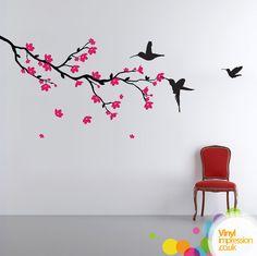 Anime Sakura Tree Drawing Cherry blossom branch