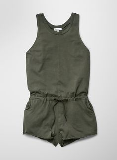 Perfect romper. Neutral color and comfortable material.