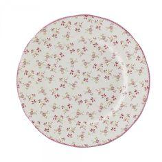 Vintage Rose Tea Plate