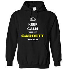 Keep Calm And Let Garrett Handle It - #workout shirt #off the shoulder sweatshirt. THE BEST => https://www.sunfrog.com/Names/Keep-Calm-And-Let-Garrett-Handle-It-sfvbl-Black-6844103-Hoodie.html?68278