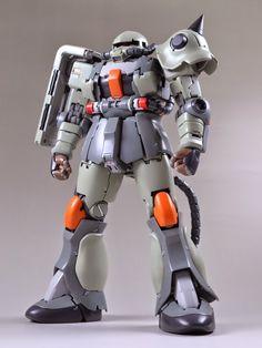 Custom Build: MG 1/100 Zaku II Ver. 2.0 - Gundam Kits Collection News and Reviews