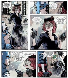 Natasha and Bucky comic strip pt. 1