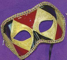 Impulse Eye Venetian, Masquerade, Mardi Gras Mask Style F