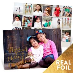 Christmas Cards  -- Merry Little Photos | Pear Tree Greetings