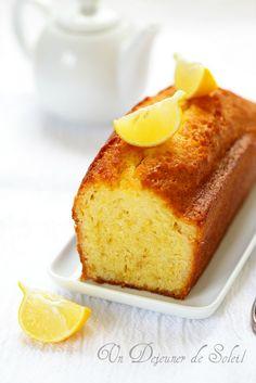 Sublime Cake citron & huile d'olive - Un déjeuner de soleil