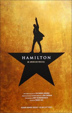 Hamilton the Musical Official Broadway Poster $20.00
