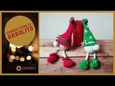 Crochet Ornament Patterns, Crochet Ornaments, Amigurumi Patterns, Crotchet, Christmas Ornaments, Holiday Decor, How To Make, Youtube, Christmas Decor