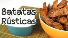 Batata rústica ou Batata Brava - Cozinha pra 1 - YouTube