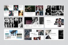 LONDON PowerPoint Template + Gift by Elizaveta Timofeeva on @creativemarket