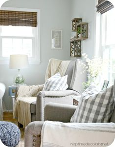 Living Room with two recliners two couches Home Inspiration