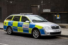 City of London Police Skoda Octavia Estate Car by 5DII, via Flickr