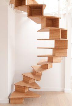 Un magnifique escalier en colimaçon peut devenir la pièce maîtresse de votre maison