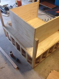 Bookshelf Chair : 15 Steps (with Pictures) - Instructables Diy Pallet Furniture, Furniture Making, Furniture Stores, Cheap Adirondack Chairs, Diy Holz, Diy Chair, Cool Chairs, Diy Wood Projects, Bookshelves