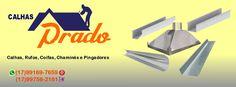 Capa para Fan Page Facebook do cliente Calhas Prado - Votuporanga, SP