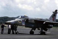 Jaguar: Royal Air Force Jaguar GR.1 XX757 Prestwick Airport (HMS Gannet)