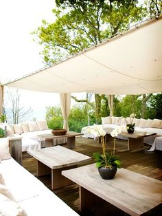 Simple but effective ... shaded but still feels like you're living outdoors right in it