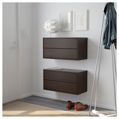Merveilleux IKEA VALJE Wall Cabinet With 2 Drawers