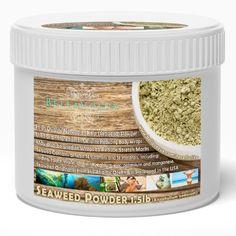 Seaweed Powder - The Best Cellulite Treatment - Cellulite Remover PowerHouse - Pure Ascophyllum Nodosum Kelp Powder to be Used in Body Wraps or Masks For Skin Detox - Kosher Certified Ingredient - Satisfaction Guaranteed (1.5 Pound), http://www.amazon.com/dp/B00ISDOYV2/ref=cm_sw_r_pi_awdm_t75Hub09WP6BT