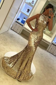 Sparkly Prom Dresses, Gold Sequin Prom Dresses,Long Prom Dresses Mermaid,Long Gold Formal Gowns,Evening Dresses for Women Breeze Bridal Sparkly Prom Dresses, Prom Dresses 2018, Mermaid Prom Dresses, Formal Evening Dresses, Formal Gowns, Sexy Dresses, Dress Formal, Elegant Gowns, Gowns 2017