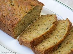 Freezing Zucchini and a Recipe for Lemon Rosemary Zucchini Bread