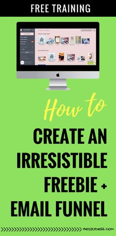How to create an irresistible lead magnet + email funnel Business Marketing, Email Marketing, Content Marketing, Marketing And Advertising, Online Business, Marketing Ideas, Affiliate Marketing, Digital Marketing, The Secret Book
